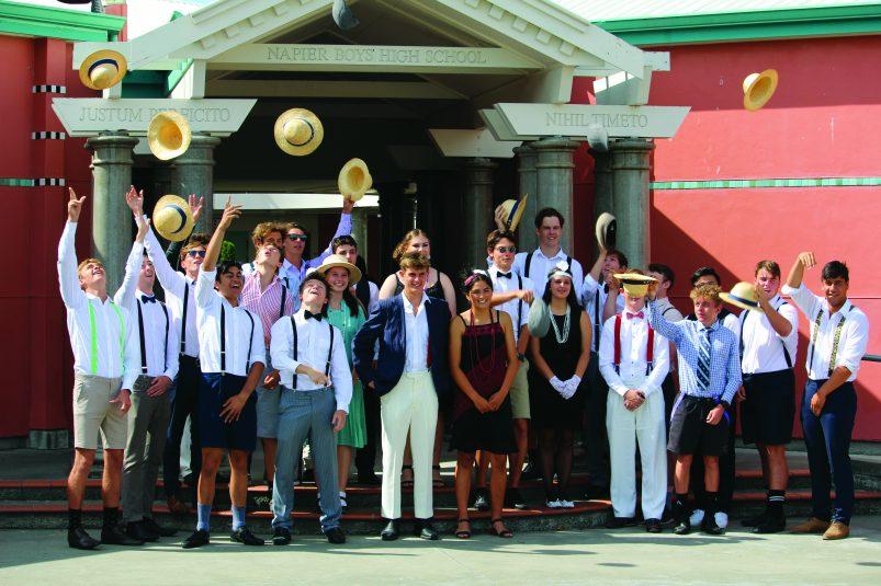 Napier boys high school art deco day 2020