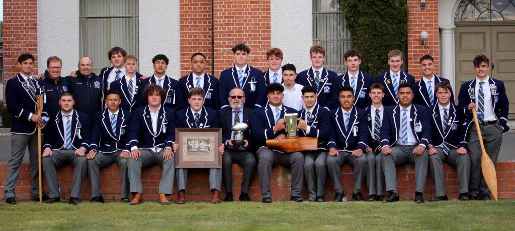Napier boys' high school Moascar cup 2020