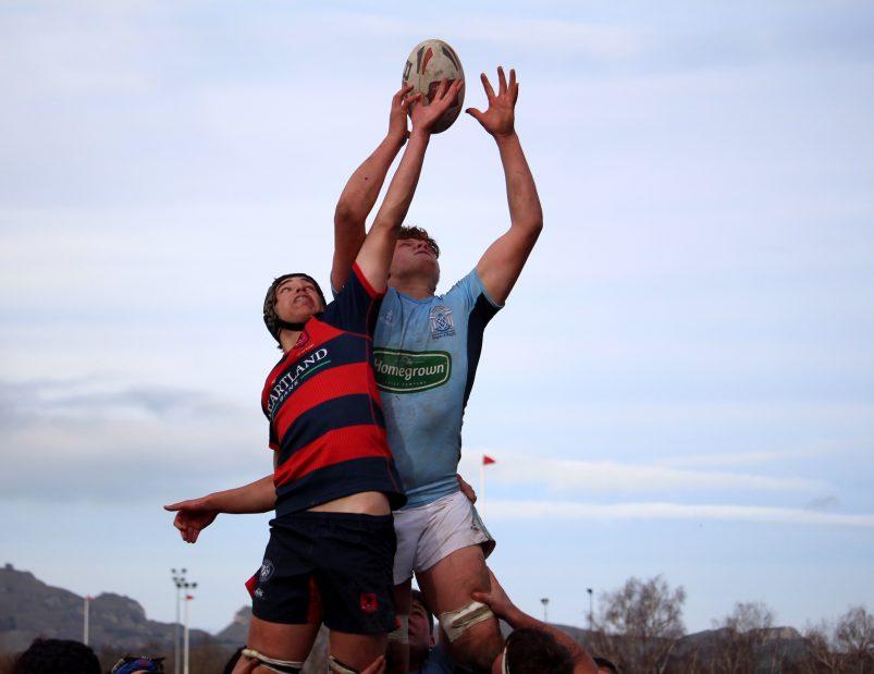 Gus Brown - Napier Boys' HIgh School Rugby