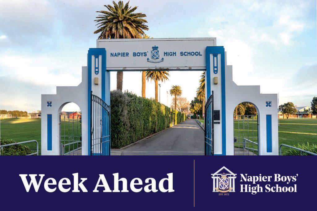 Napier Boys High School Week Ahead